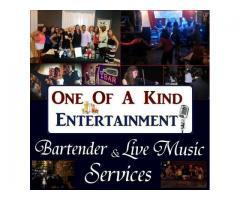 Pro Bartenders DJs & Music - One Of A Kind - Weddings, Parties