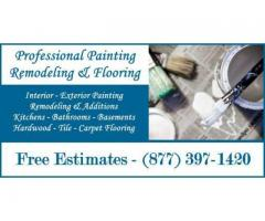 Interior Exterior House Painters-Remodeling Painting-Flooring-Painter