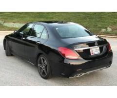 Rent a new Mercedes C450 AMG Sedan