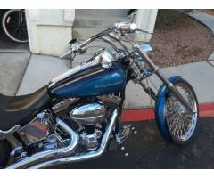 2002 Harley Davidson Deuce chromed to the Max !