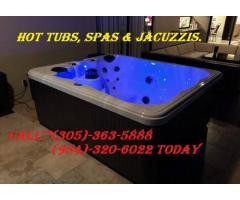 HOT TUB fill up and enjoy
