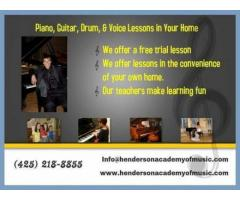 ♬ Guitar or Piano Lessons for Kids!
