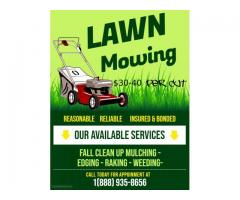 Need Your Lawn Cut