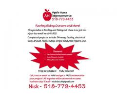 Call Apple now for your Home Improvement needs!